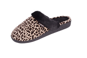 Slip On Slipper Animal Print- NEW