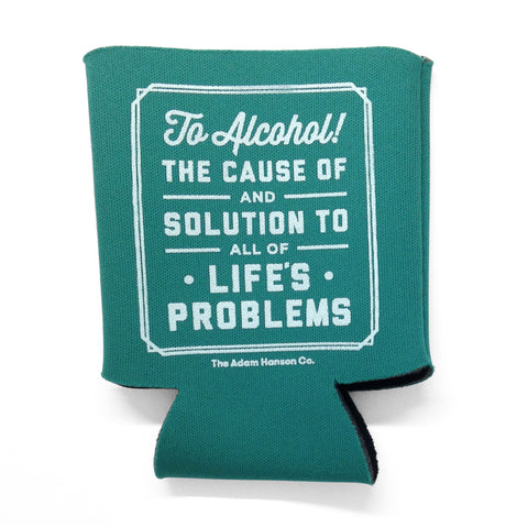 To Alcohol Koozie