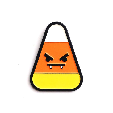 Candy Corn Enamel Pin