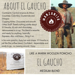 El Gaucho Espresso Subscription, Choose Your Options