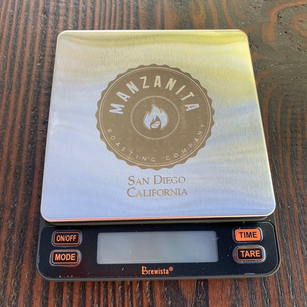 Brewista Smart Scale II with Manzanita Logo