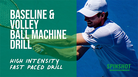 Baseline & Volley Drill