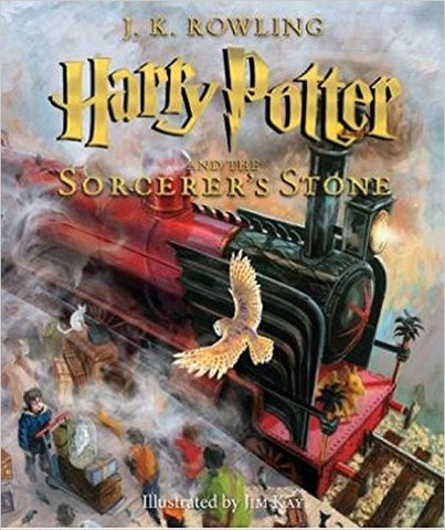 Harry Potter and the Sorcerer's Stone: The Illustrated Edition (Harry Potter, Book 1) : The Illustrated Edition