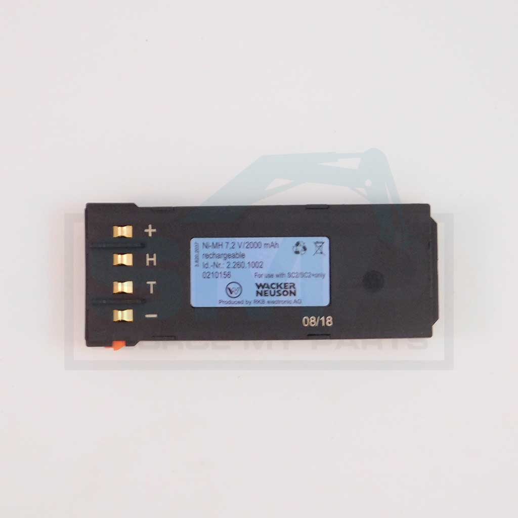 BATTERY - NIMH 2000MAH, TRANSMITTER RT/DPU - 0210156