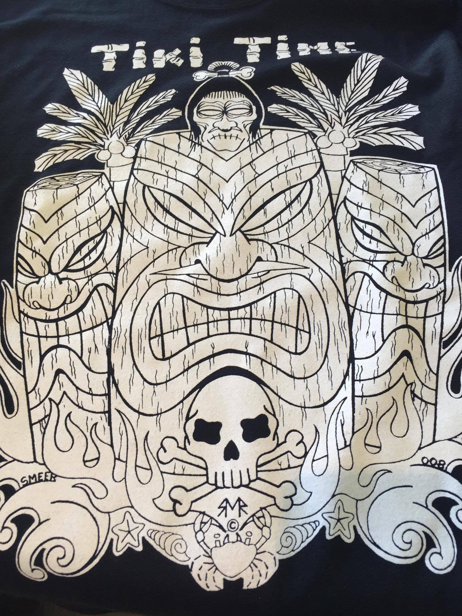 MENS TEES - Rockabilly Tiki Time