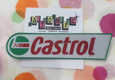 CLOTH PATCHES - Castrol