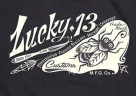 GUYS TEES - Lucky13 - THE FLY - Atomic Retro