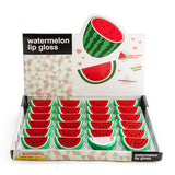 retro funky watermelon lip gloss
