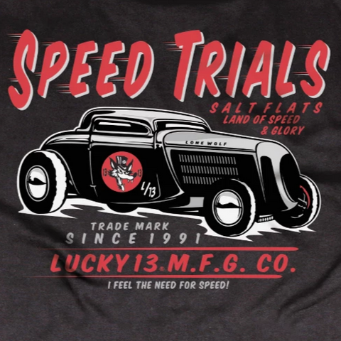 GUYS TEES - Lucky13 - SPEED TRIALS