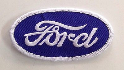 CLOTH PATCHES - Ford Oval