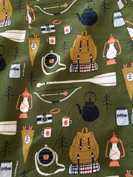 DRESS -  Let's Go Camping! - Atomic Retro