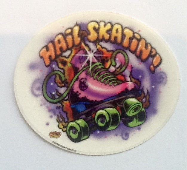 STICKER - Hail Skatin' sticker round