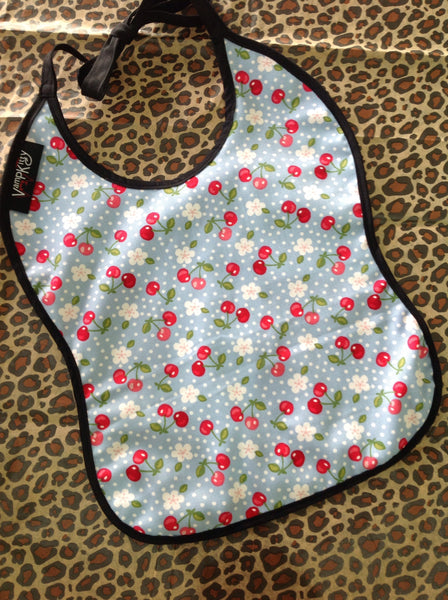 KIDS BIBS - Floral Cherry - Atomic Retro