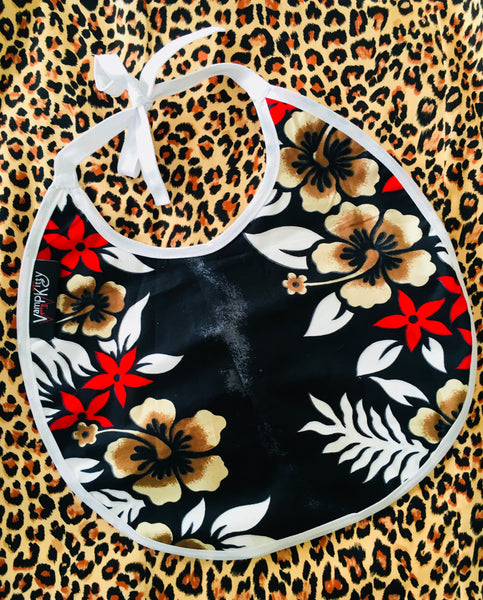 KIDS BIBS - Hawaiian print