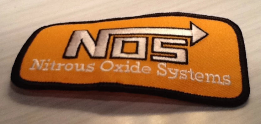 CLOTH PATCH -  Nos Rectangle - Atomic Retro