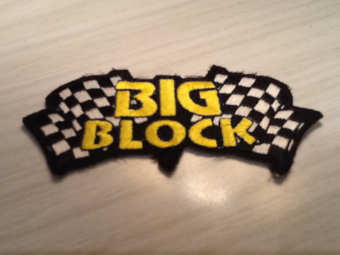 CLOTH PATCHES - Big Block