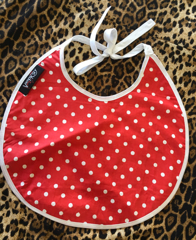 KIDS BIBS - Polka dotty