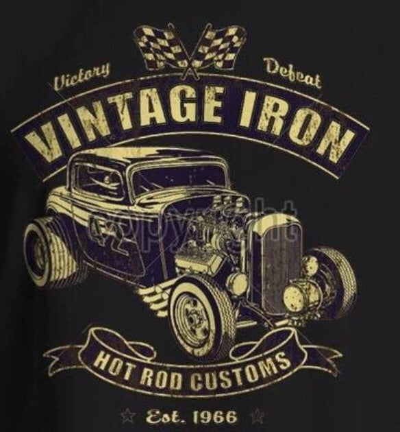 MENS TEES - Vintage Iron
