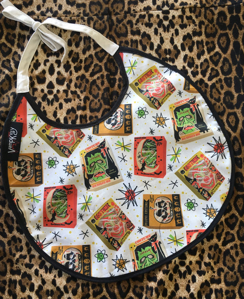 KIDS BIBS - Atomic monster