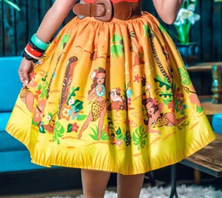 SKIRT - Miss Fluff Enchanted Pineapple Limited  Edition