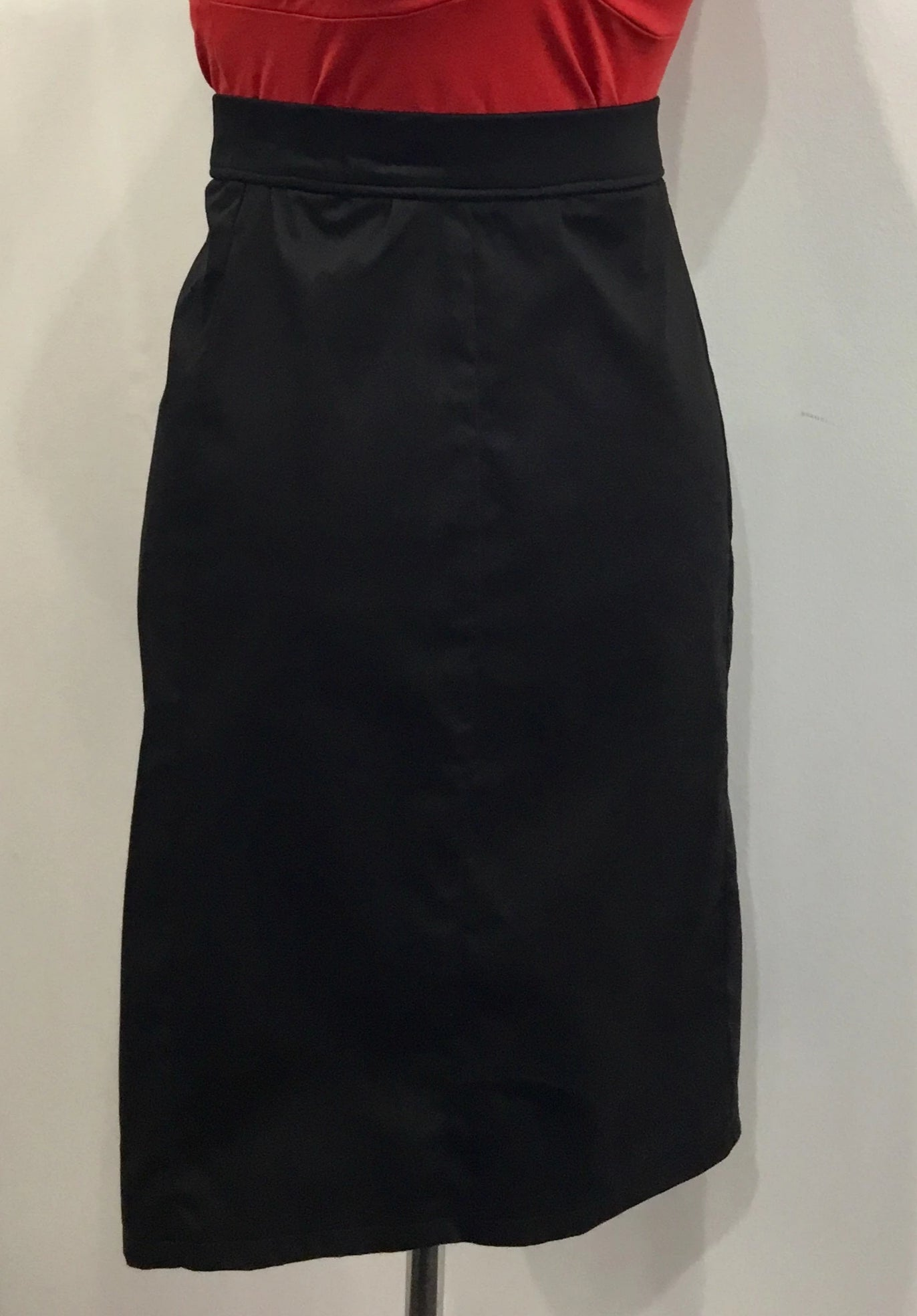 SKIRT - HANDMADE - Wiggle Black Pencil