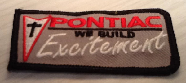 CLOTH PATCHES - Pontiac Excitement