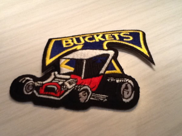 CLOTH PATCHES - Ford T Bucket Hot Rod