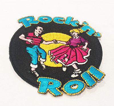 CLOTH PATCHES - Rock n Roll Dancers