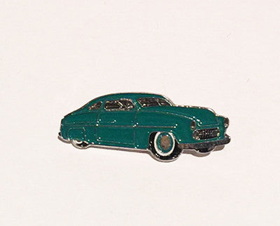 LAPEL BADGES / BROOCHES -  Hot Rod Sled