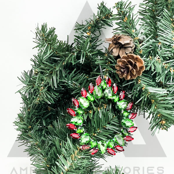 2019 Wreath Ornament (3 Pack)