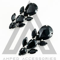 Black Hairclips