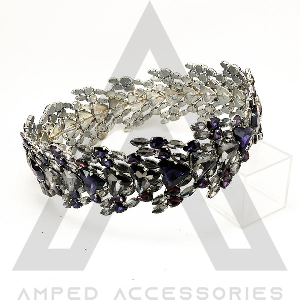 Amethyst & Grey Crown