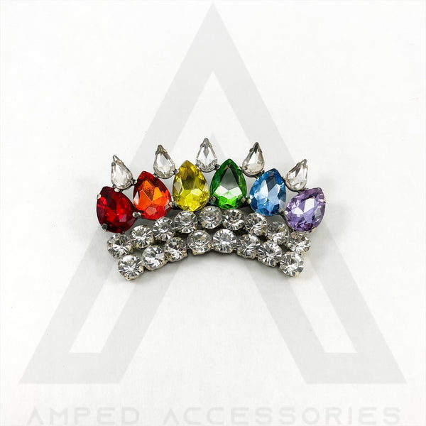 Pride Crown Pin