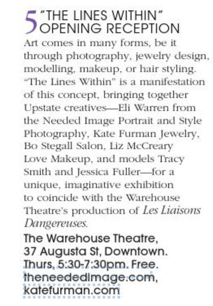 Another mention in Town Magazine!