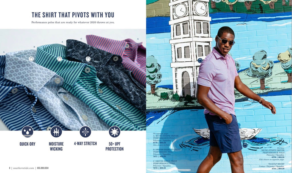 Kate Furman mural Southern Tide Catalog