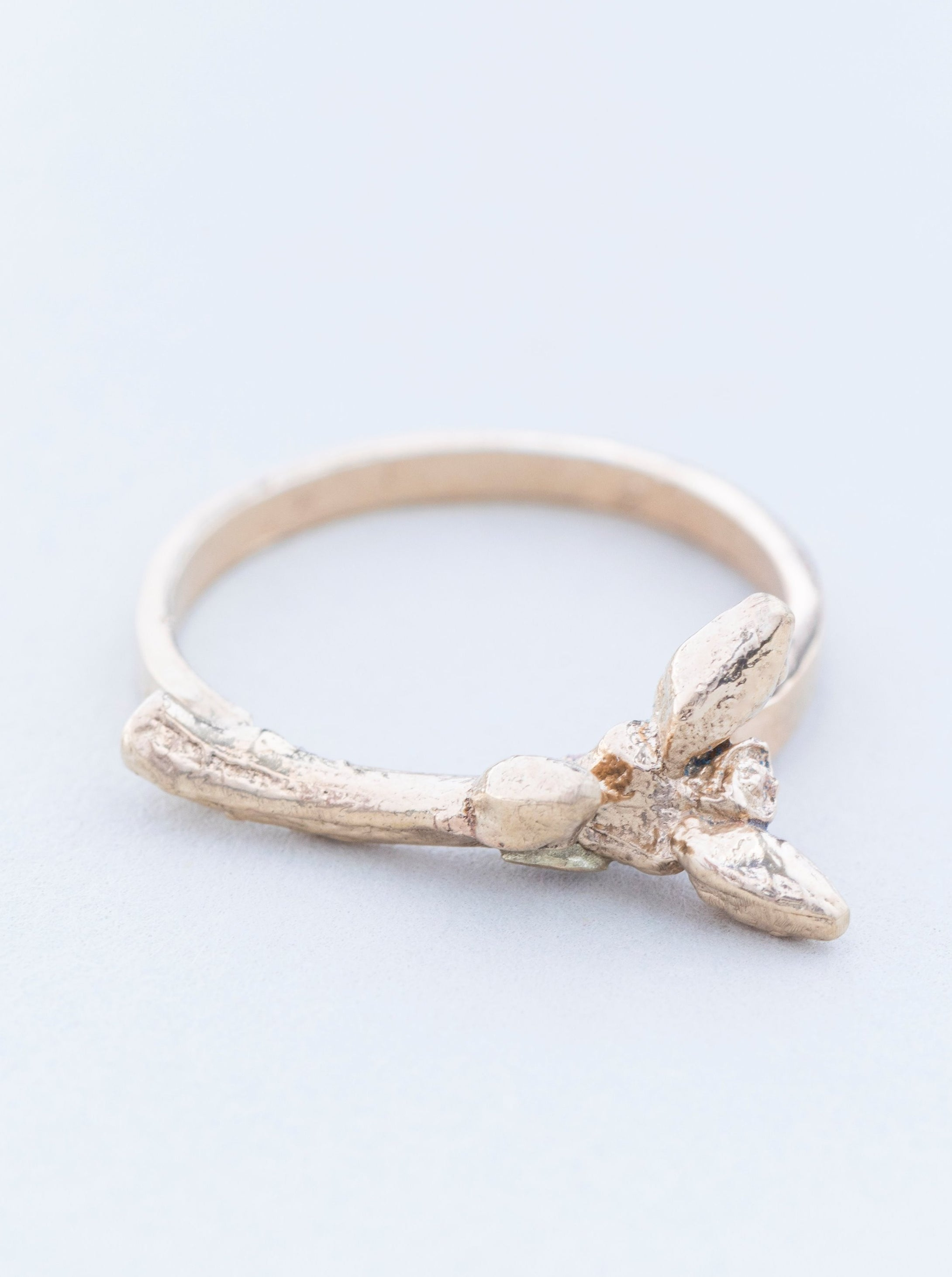Twig Gold Ring