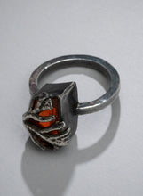 Load image into Gallery viewer, Coral and Fire Opal (One of a Kind)