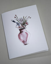 Load image into Gallery viewer, Flower Vase Notecards