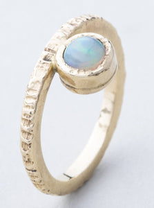 Opal and Yellow Gold (One of a Kind)