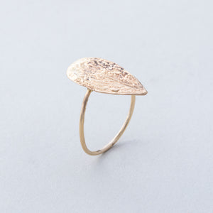 Desert Leaf Ring
