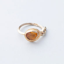 Load image into Gallery viewer, Sapphire and Gold (One of a Kind)