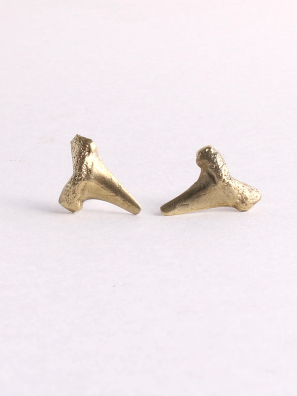 Shark Teeth Stud Earrings