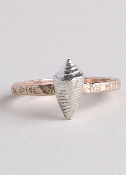 Rose Gold & Silver Ring