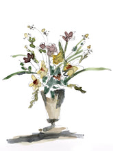 Load image into Gallery viewer, Wild Flower Vase (Giclee Print)