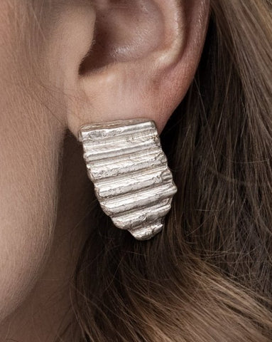 Shell Fragment Earrings