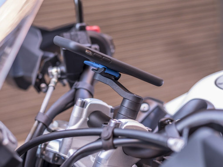 Index Spacer provides extra clearance for the Quad Lock Handlebar or Mirror Mount