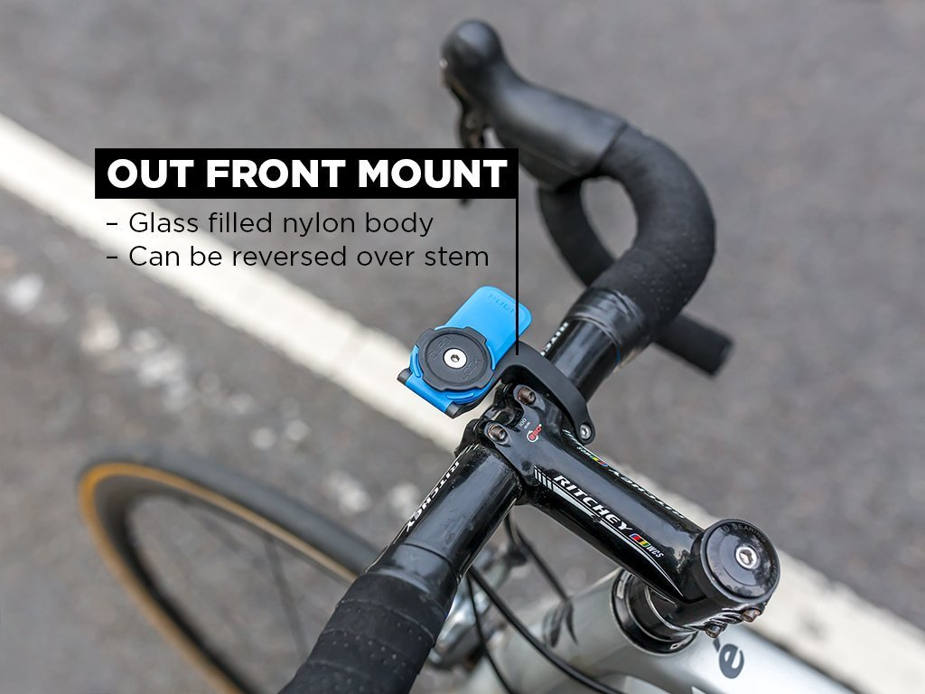 Out Front Mount for road cyclists