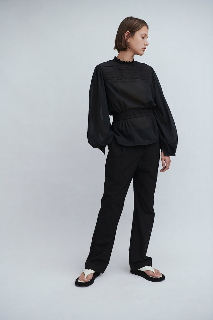 Tailored Pleat Pant