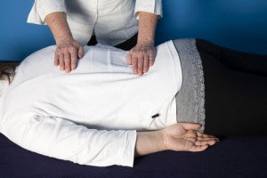 image of reiki session