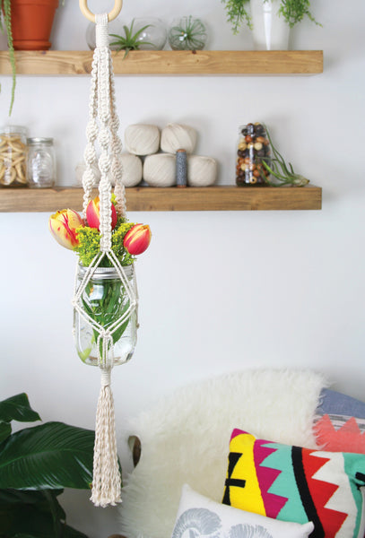 Mason Jar DIY Plant Hanger Kit